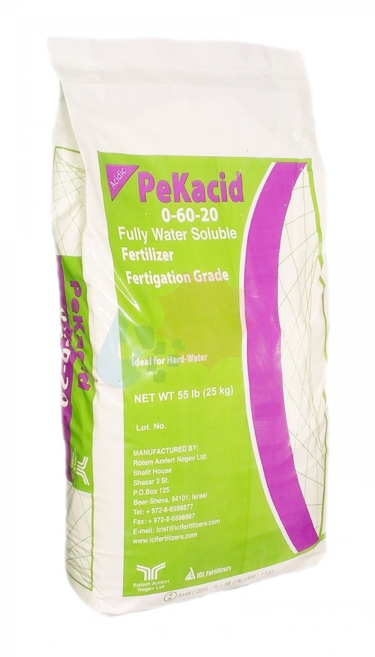 FERTILIZANTE PK SOLUBLE 'PEKASID 0-60-20'